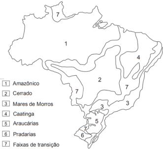 Questoes Brasil Aspectos Naturais Geografia Estuda Com Enem